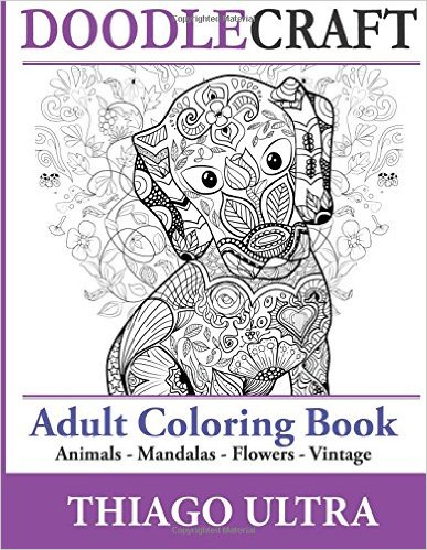 Thiago Ultra DoodleCraft adult coloring book