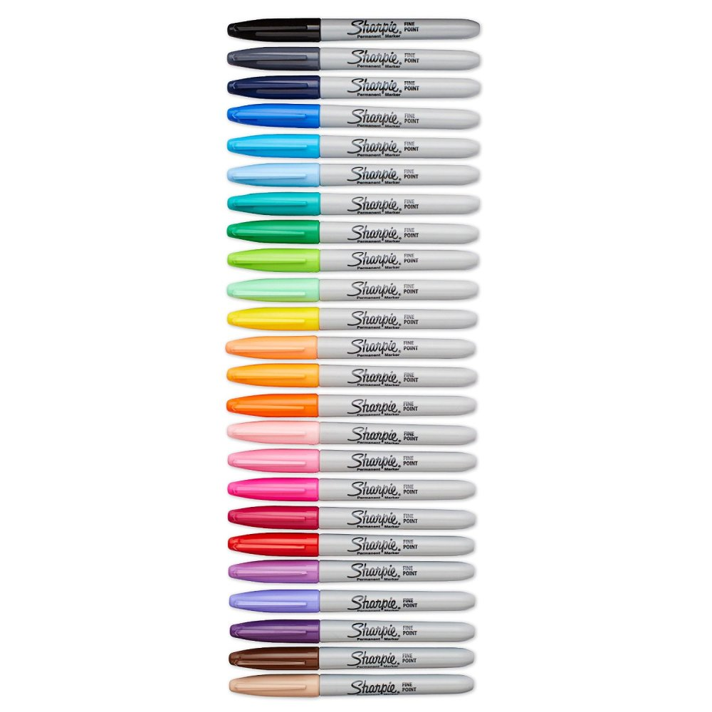 Sharpie marker colors for adult coloring books