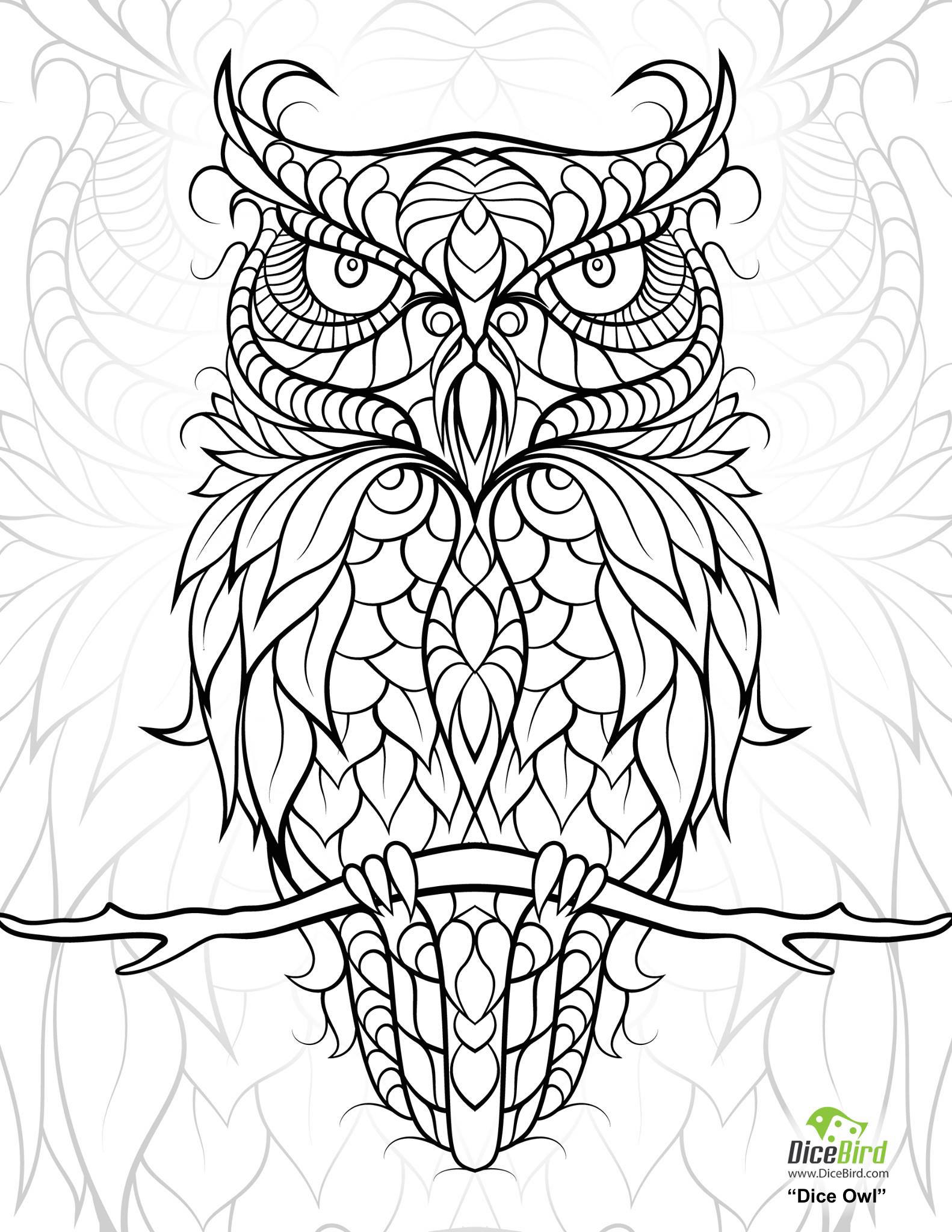 Free coloring pages for adults - Free Coloring Pages For Adults 18