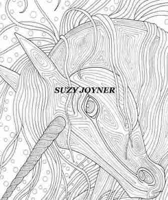 Adult Coloring Book Artist Suzy Joyner of SuzyMuse