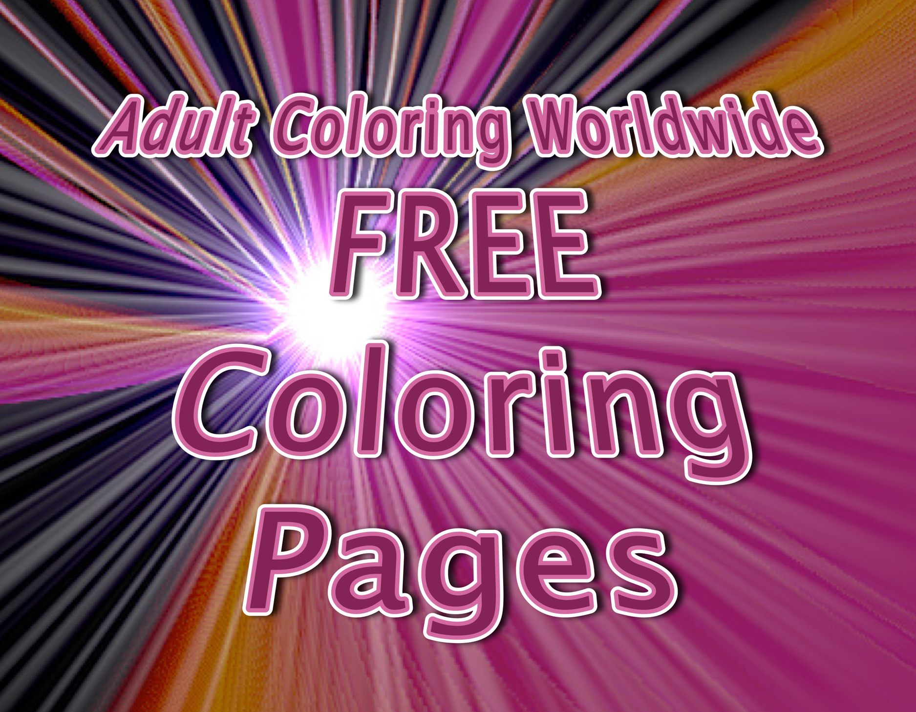 Intricate Coloring Pages For Adults : Coloring pages amazing of simple free printable mandala coloring