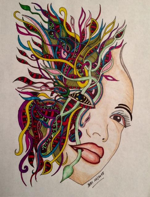 #angelacolorz art by Brigitte Ibitoye