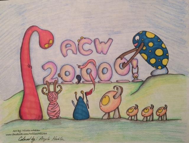 20000 member milestone collectors image. Colorist: Angela Colorz Artist: Nicole Whelan