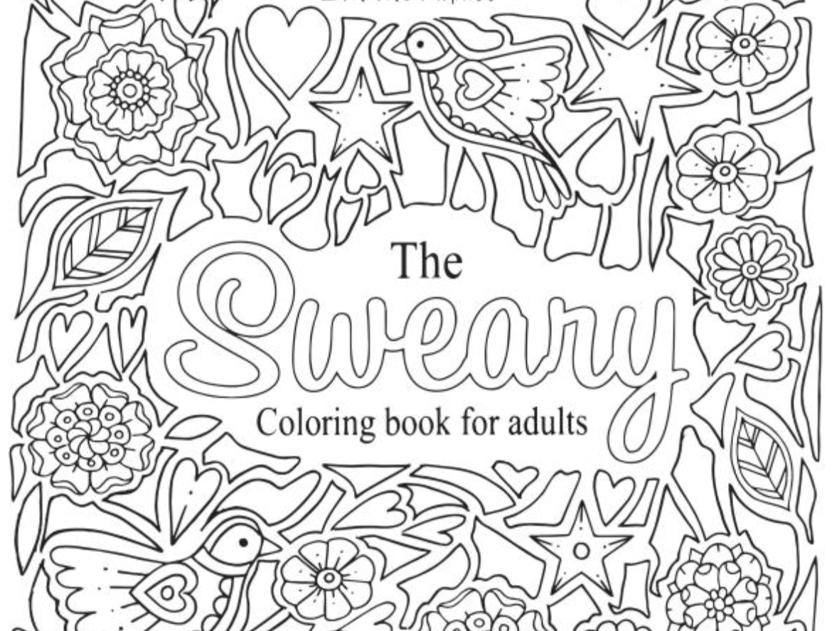 Swear word coloring book sarah bigwood - Adult Coloring Worldwide Approved Swear Coloring Books Adult Coloring Worldwide