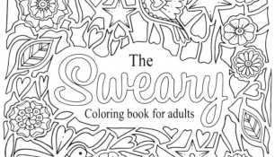 Swear Word Coloring Pages - Best Coloring Pages For Kids | 175x306