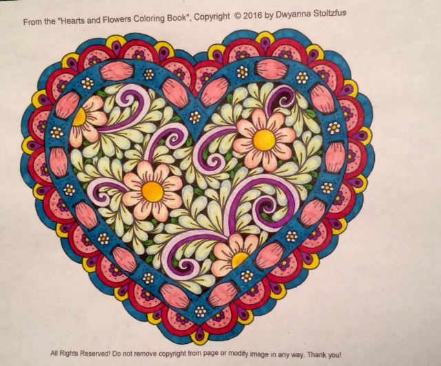 #angelacolorz Art by Dwyanna Stoltzfus using Artist Loft colored pencils and Sharpies.