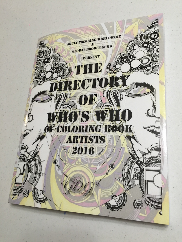The Directory 2016 Of Adult Coloring Book Artists