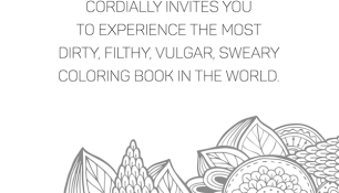 1 Sweary Coloring Book