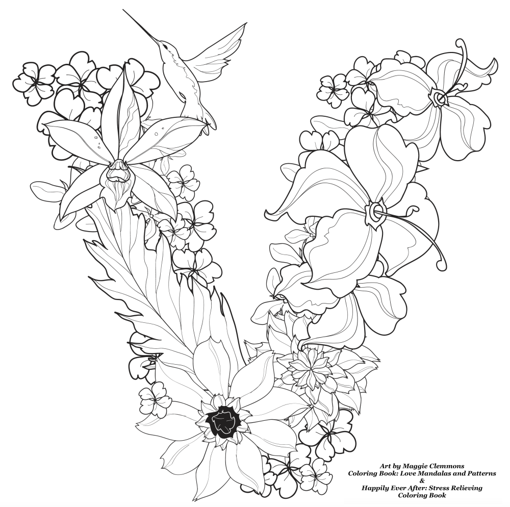 Free Coloring Pages From Maggie Clemmons Adult Coloring Worldwide