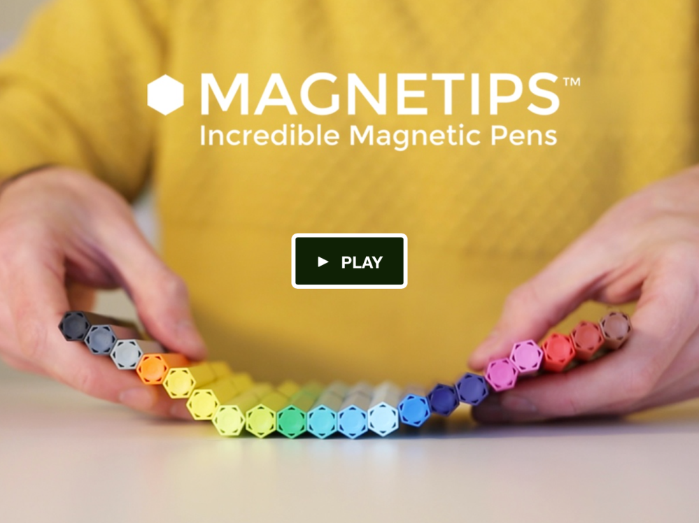Magnetips incredible magnetic refillable fine liner markers for adult coloring books