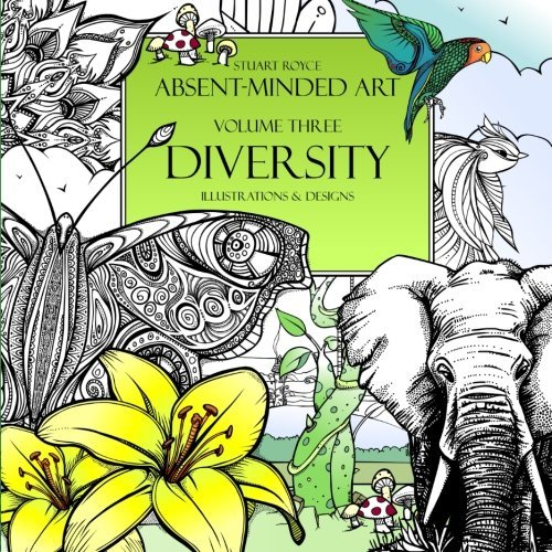 Diversity Is Here By Stuart Royce Adult Coloring Books ...