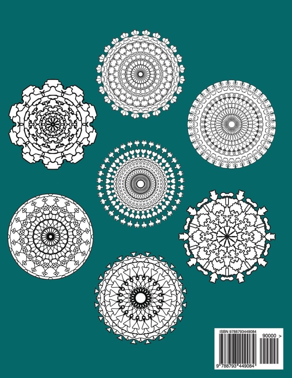 50 Mandala Fun Designs waiting for you splash with color. Mandala Fun Adult Coloring Book Volume 1