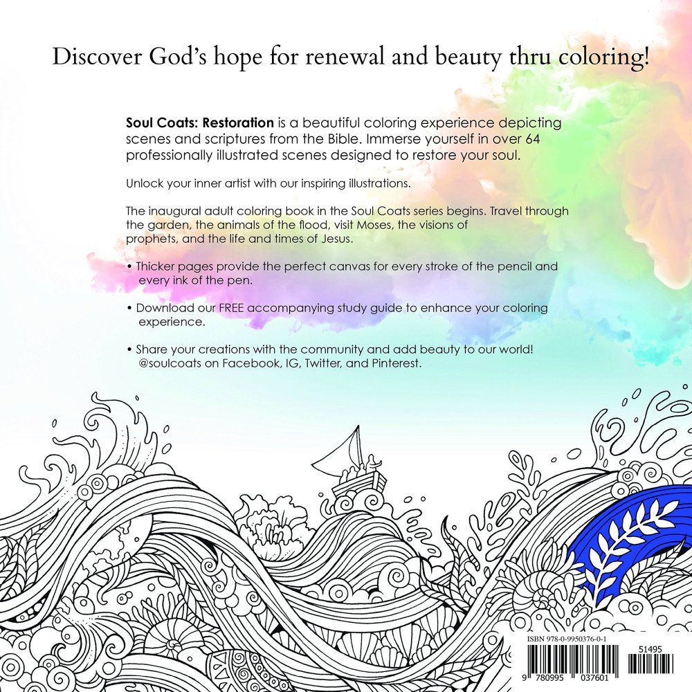 Discover God's hope for renewal and beauty through coloring