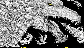 once upon a time mythomorpia happened kerby rosanes creates beautiful fantasy coloring book - Challenging Dragon Coloring Pages