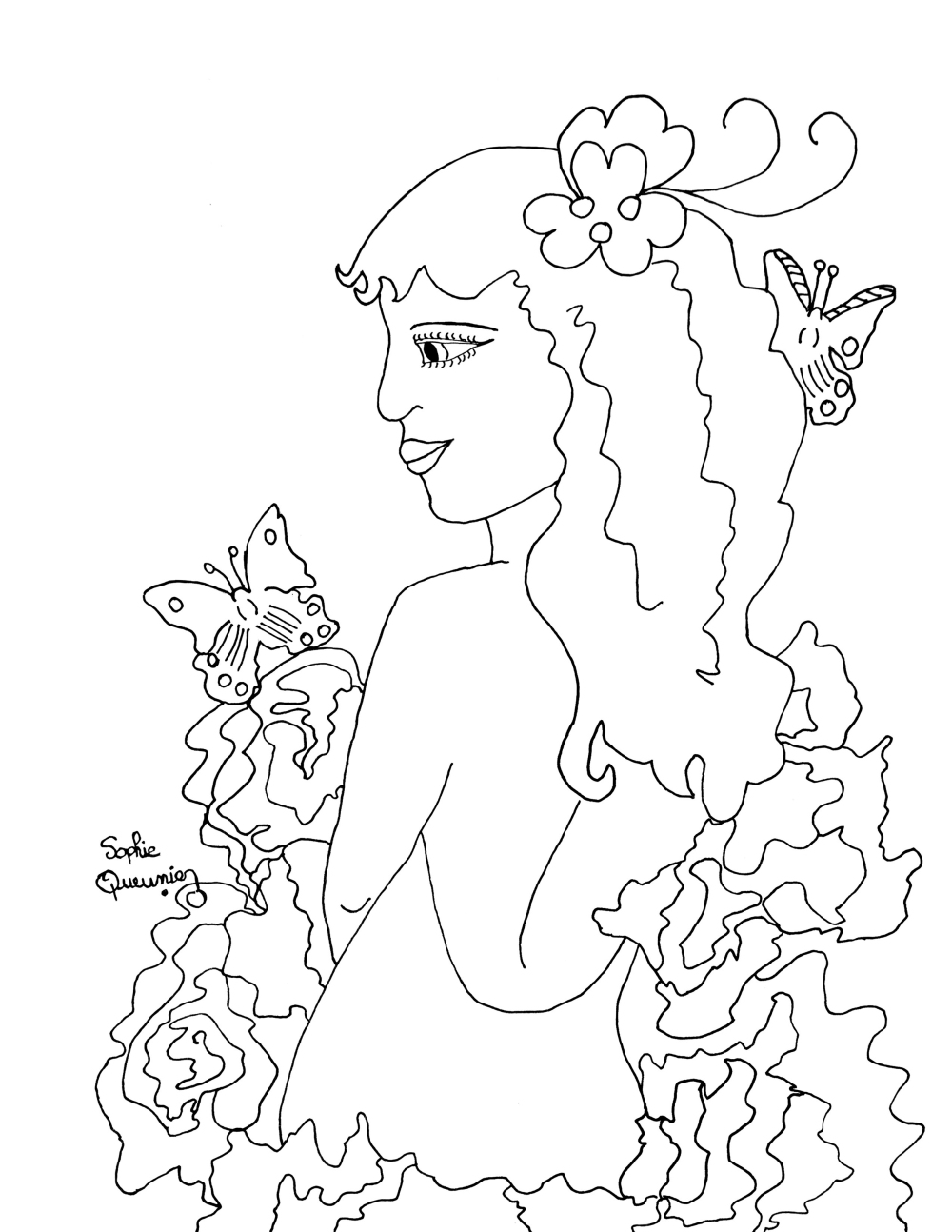 sophies gems coloring book sophie - Free Coloring Pages Adult