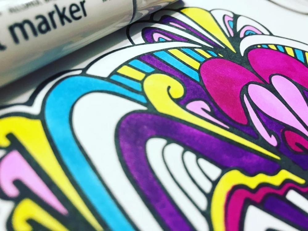 doodle coloring book by Evan Brown Doodle Dood